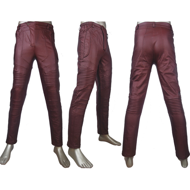 Guardians of the Galaxy Cosplay Star-Lord Peter Quill trousers costume unique halloween make-up carnival costume