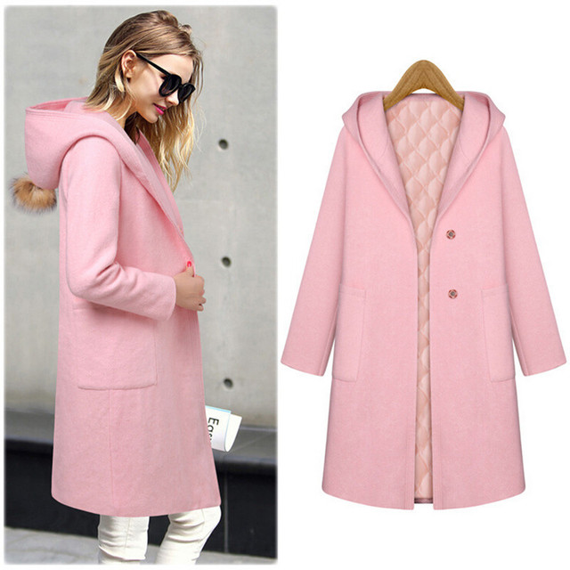 Aliexpress.com : Buy 2015 New Winter Women Long Wool Jacket ...