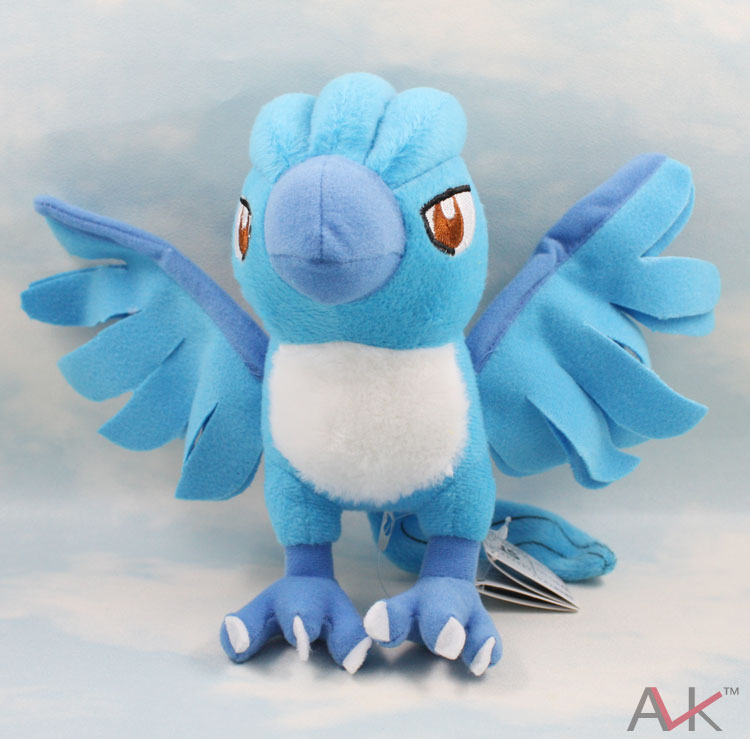 Monster Plush Toy 7 Articuno Plush Toys Cute Monster Character Stuffed Animals Kawaii Toys Doll For Kids Gifts plush toy simulation gray cat doll stuffed animals toys cute birthday gifts