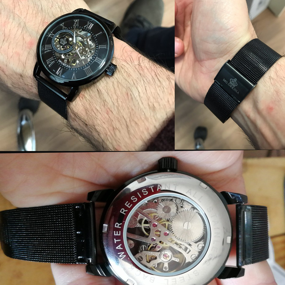 Coupons Sale Men Watches Mechanical Hand Wind Luxury Top Brand ORKINA Skeleton Stainless Steel Bracelet Mesh Coupons Sale Men Watches Mechanical Hand Wind Luxury Top Brand ORKINA Skeleton Stainless Steel Bracelet Mesh Strap Men's Watches