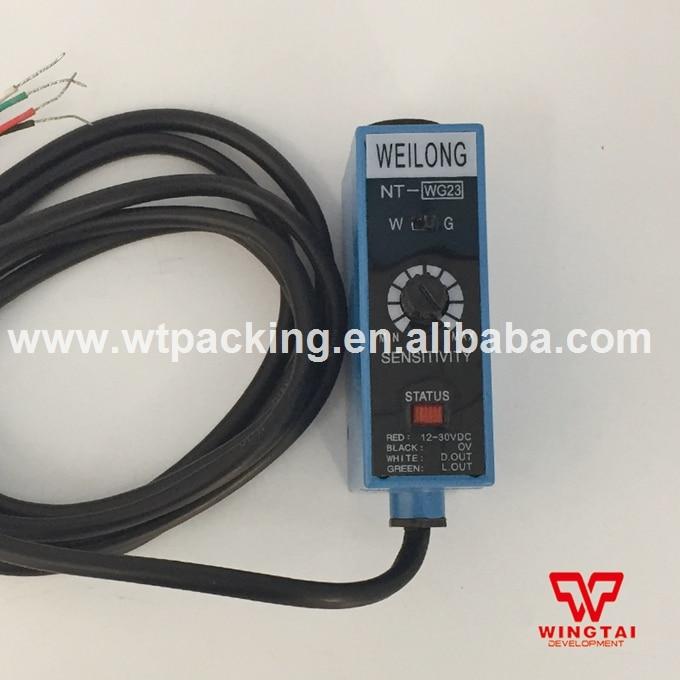 WEILONG Color Mark Photoelectric Sensor NT-WG23 for printing machine parts leveling sensor fml photoelectric switch gls 126 nt mv nc