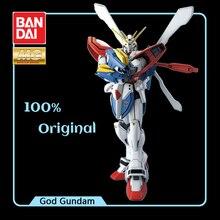BANDAI דגם לוחם נייד G Gundam MG 1/100 אלוהים Gundam מלך של לב GF13 017NJ אפקטים פעולה איור דגם שינוי