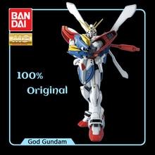 BANDAI Model Mobile Fighter G Gundam MG 1/100 God Gundam King of Heart GF13 017NJ Effects Action Figure Model Modification