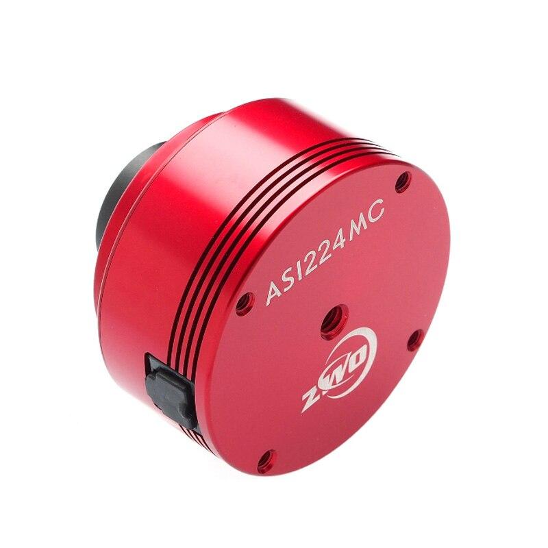 Zhen Wang photoelectric ZWO ASI224MC USB3.0 high sensitivity color planet camera guide star camera zwo asi183mc pro color cooled
