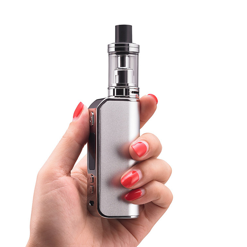 , CYAN MLISC 80W Vape Kit Electronic Cigarettes with 3.0ML Atomizer 2200mah Battery Mod Box Vaporizer e Cigarettes Kit Vape Bo