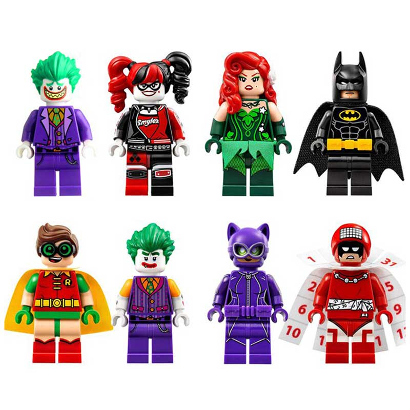 Single Super Heroes DIY Blocks X-man Avengers Justice League Model Building Blocks Compatible With Legoingly Batman gift zk15