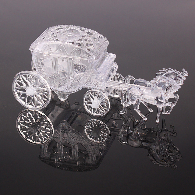 Aliexpresscom Buy Clear Box Royal Carriage Cinderella Carriage