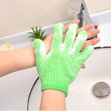 Shower Scrubber Exfoliating Back Skid Resistance Body Massage Sponge Wash Skin Moisturizing Spa Bath Glove