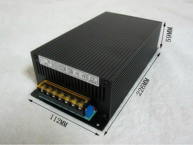220 V à 60 V 70 V 80 V 90 V 110 V, 480 W alimentation à découpage, adaptateur d'alimentation cc, alimentation de moniteur