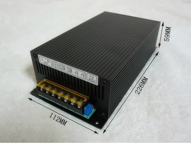 220V to 60V 70V 80V 90V 110V, 480W Switching Power Supply , DC power adapter ,Monitor power supply цена