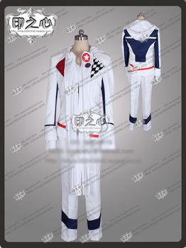 GUNSLINGER STRATOS Frontier S Tohru Kazasumi Cosplay Costume Uniform S-XL Custom