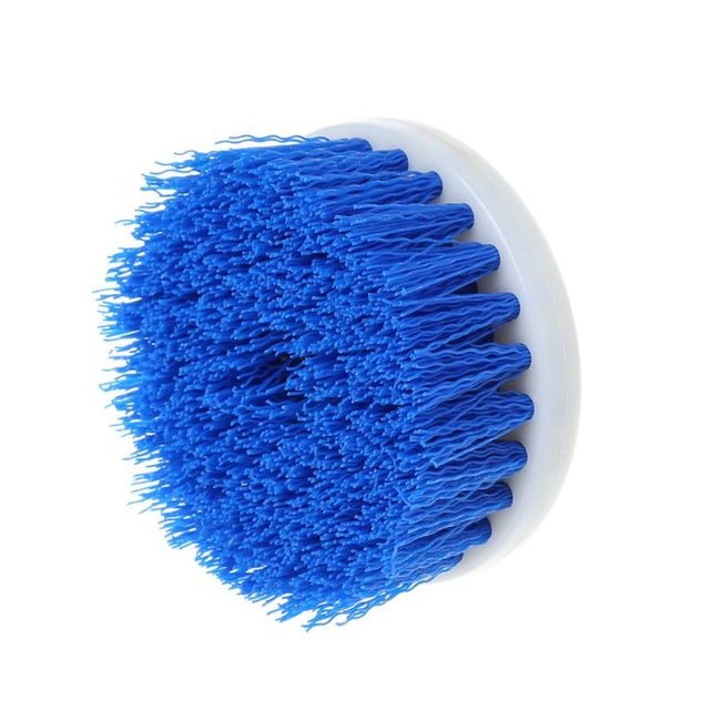 60mm Drill Powered Scrub Drill Brush Head For Cleaning Ceramic Shower Tub Carpet F5H6 5