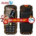 VKworld Stone V3 IP67 Водонепроницаемый Противоударный Пылезащитный Мобильного Телефона 5200 мАч Power Bank Длительным Временем Ожидания Открытый 2.4 дюйма Сотовый Телефон
