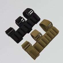 Тактический Shot gun 8 снарядов складная сумка для амуниции охоты Винтовочная пуля держатель картриджа патронташ кошелек поясная сумка