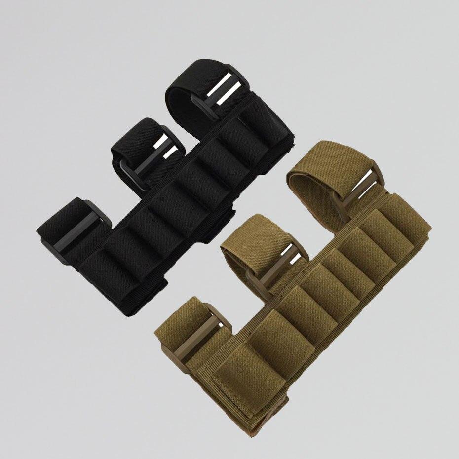 Tactical Shot Gun 8 Shells Folding Ammo Bag Hunting Rifle Bullet Cartridge Carrier Padded Holder Wallet Belt Bag