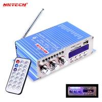 HY502S Bluetooth Auto Eindversterker Stereo Sound Mode HiFi 2 Channel Mini FM Audio + MP3 Speaker Muziekspeler voor iPod HY-502S