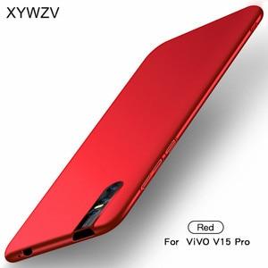 Image 3 - ViVO V15 Pro funda Silm a prueba de golpes de lujo ultrafino suave duro PC funda de teléfono para ViVO V15 Pro cubierta para Vivo V15 Pro Fundas