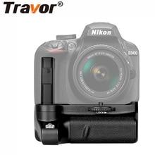Travor Вертикальная Батарейная ручка для Nikon D3400 батарея камеры dslr ручка работает с EN-EL14 батареей с инфракрасной функцией