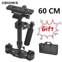 S60 Handheld Steadycam DSLR Camera Stabilizer S 60 +Plus 3.5kg 60cm Camcorder Aluminum Steadicam for Photography Film Video DHL