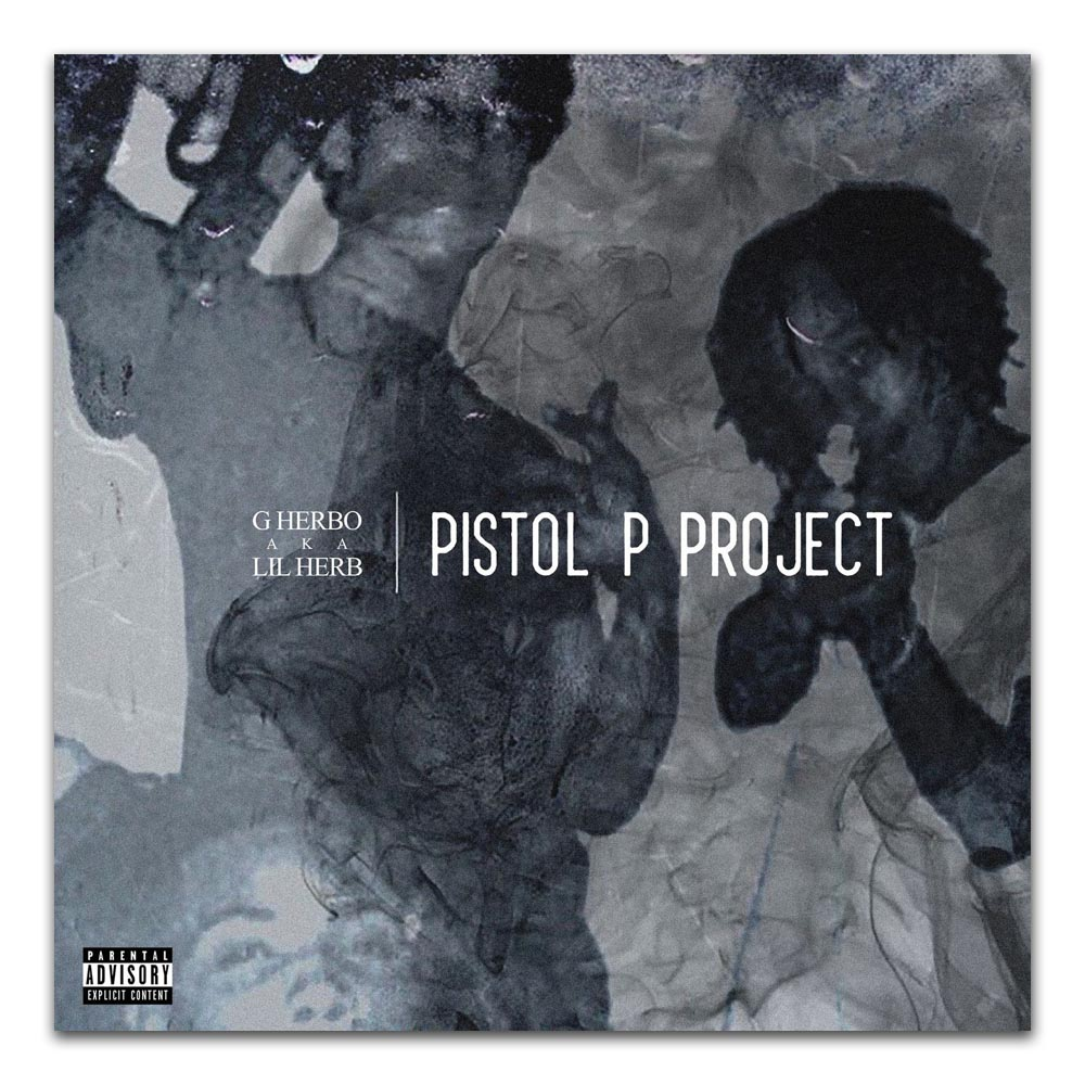 """G Herbo Lil Herb Pistol P Project Album Cover Poster Art Print20×20 24×24 32×32/"""""""