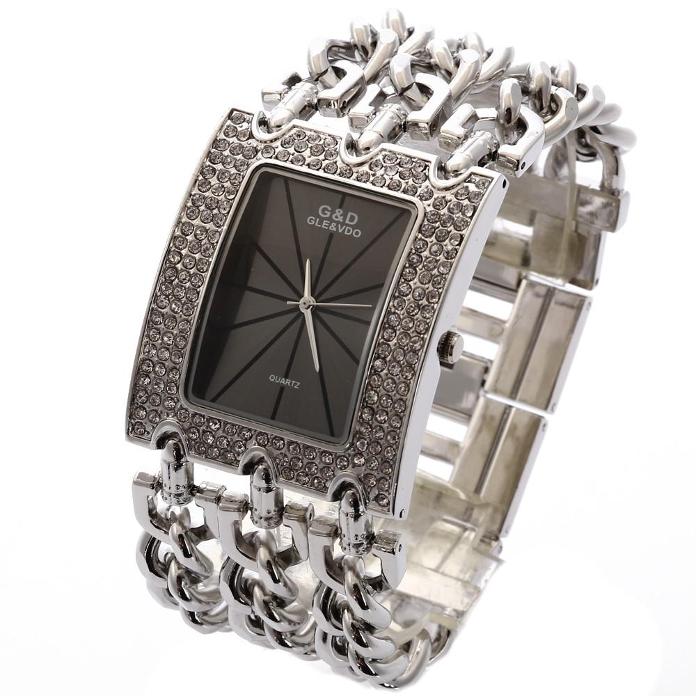 G & D Kvinnor Armbandsur Relogio Feminino Quartz Watch Kvinnor - Damklockor - Foto 3