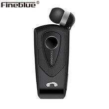 Auricular inalámbrico con Bluetooth F930 de Fineblue, telescópico, manos libres, recordatorio de llamadas, Clip de desgaste por vibración, micrófono estéreo deportivo