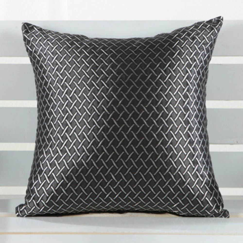 <font><b>Elegant</b></font> Hot Grid Throw Pillow Case <font><b>Home</b></font> <font><b>Decorative</b></font> Cover ShellWX