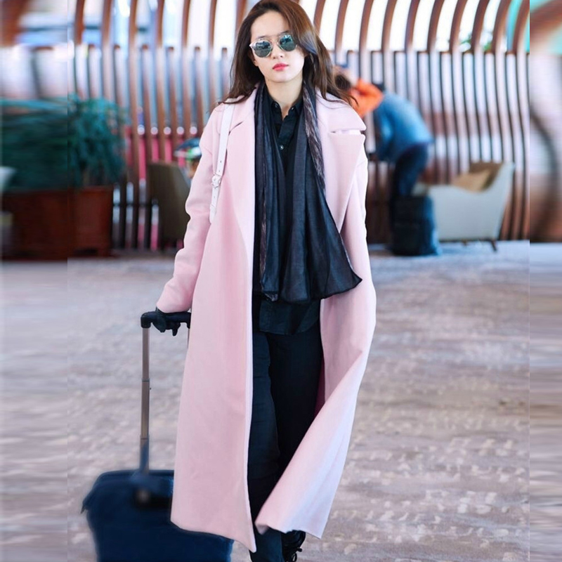 Online Get Cheap Pink Wool Trench -Aliexpress.com | Alibaba Group