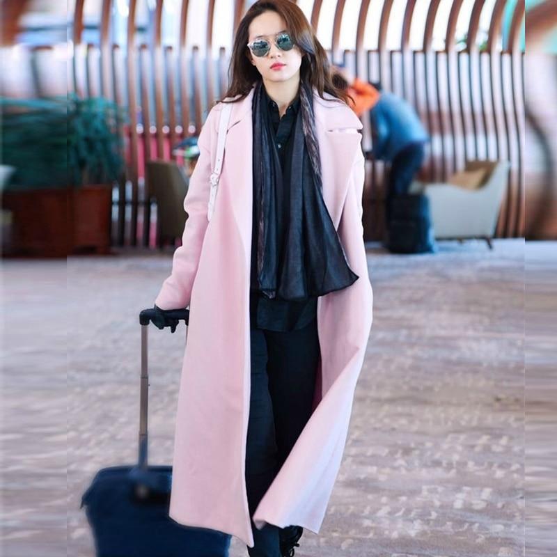 Pink Wool Coat Womens | Fashion Women's Coat 2017