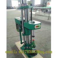 HB 4 Automatic Crown Cover Capping Machine Beer Bottle Beer Bottle Coke Bottle Sealing Machine No