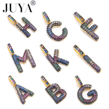 JUYA High quality long necklace pendant for woman boy 26 English letters Small size childrens chain