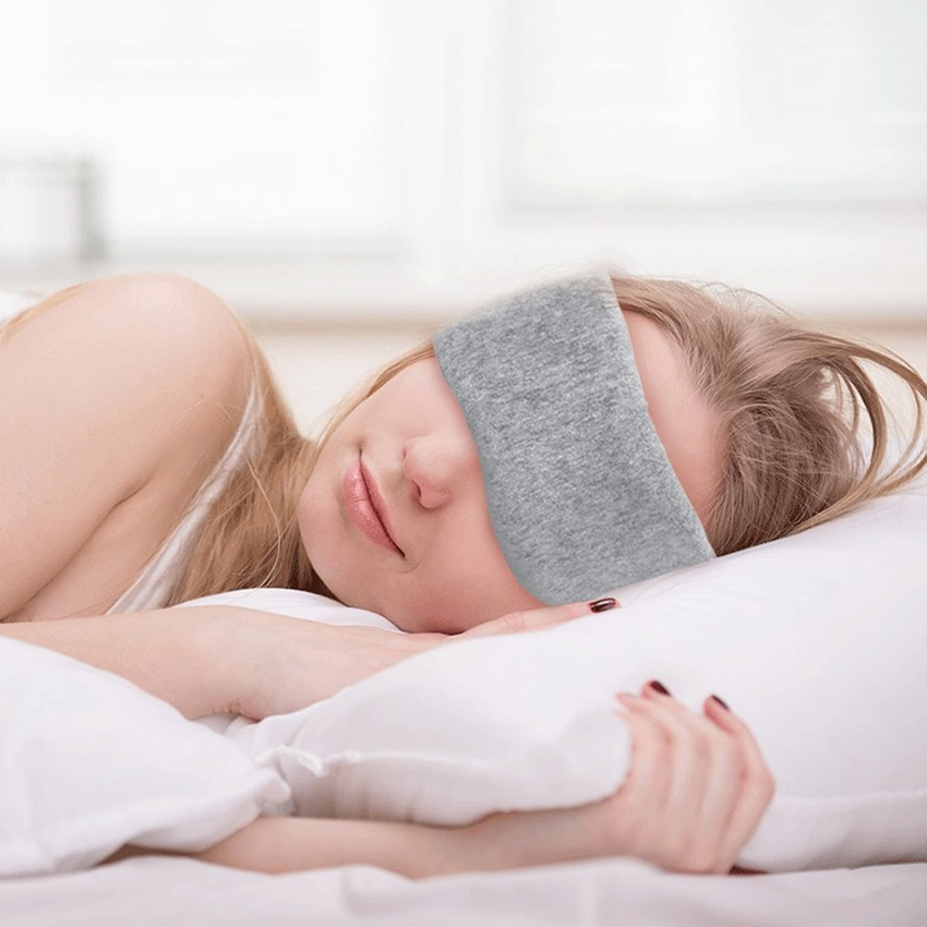 New 3D Sleep Mask Soft Eye Mask Sleeping Aid Shade Cover Sunlight Blocking Out Blindfold Unisex Eye Care Products Gift