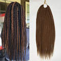 "18"" senegalese twist hair crochet hair braiding crotchet braids hair extension kinky twist hair extension synthetic Havana twist"