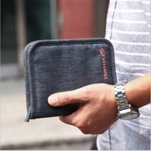 Travel Women Men Short  Passport Bags Holders Organizer Wallet Purse Card Case Free shipping