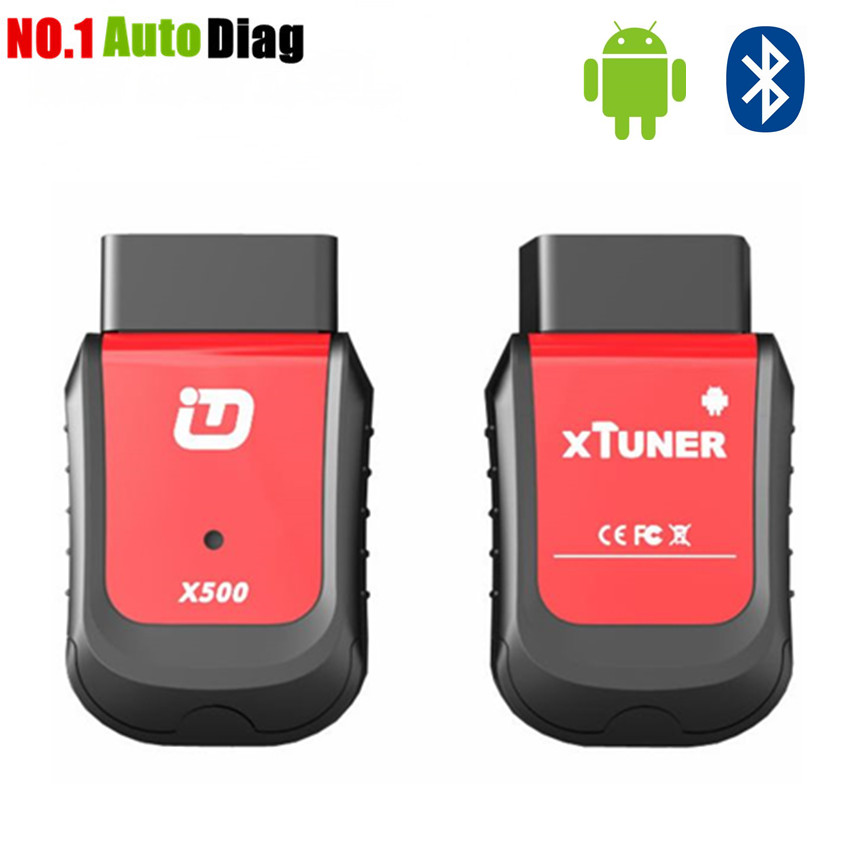 Prix pour 2017 Xtuner X500 Bluetooth Android Universel OBD2 De Voiture Outil De Diagnostic pour Moteur, ABS, Batterie, DPF, EPB, huile, TPMS, IMMO Auto Scanner