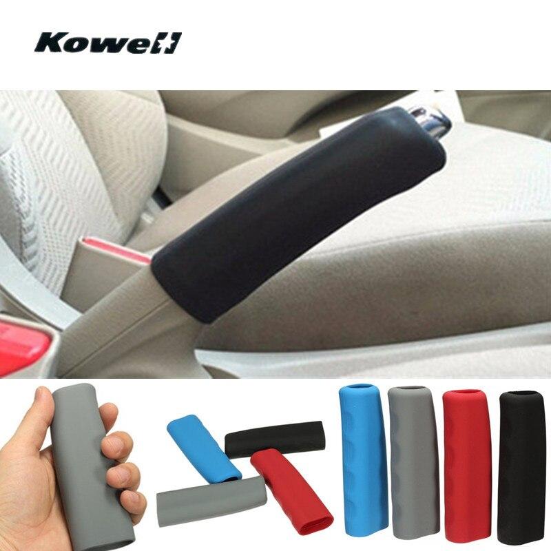 Универсальный силиконовый Противоскользящий Чехол для автомобильного рычага ручного тормоза, внутренние детали, автомобильный ручной тор...