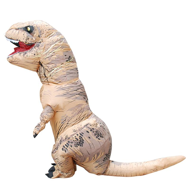 Halloween Dinosaur Costume Inflatable Fancy Cosplay Dress Theme Party Clothing for Kids & adult Accessories for Plush Stuff on sale adult avengers iron man muscle halloween costume marvel superhero fantasy movie fancy dress cosplay clothing