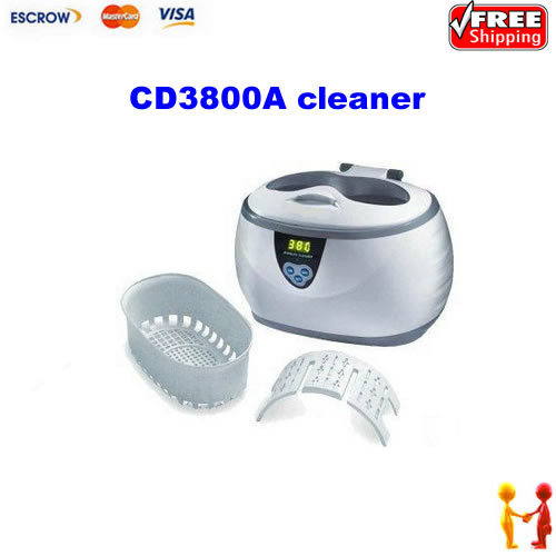 Free shipping!!! Cute CD3800A ultrasonic cleaner, jewelry cleaner, easy to operate, cheap price free shipping kylin bell ultrasonic cleaner serise please contact me for the price