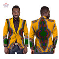 Men African Clothes Slim Fit Blazer Dashiki Men Brand-Clothing Men Suit Coat Red Velvet Blazer African Men Clothes 6XL WYN169