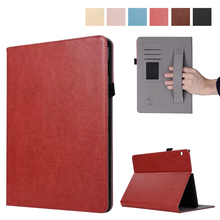 Premium PU Leather Case All-Powerful Protective Stand Cover for Huawei MediaPad T3 10.0 Inch Tablet with Hand Strap