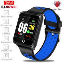 BANGWEI New Sport Smart Watch IP67 Waterproof Fitness Bluetooth Heart Rate Monitor Pedometer for Android ios+BOX