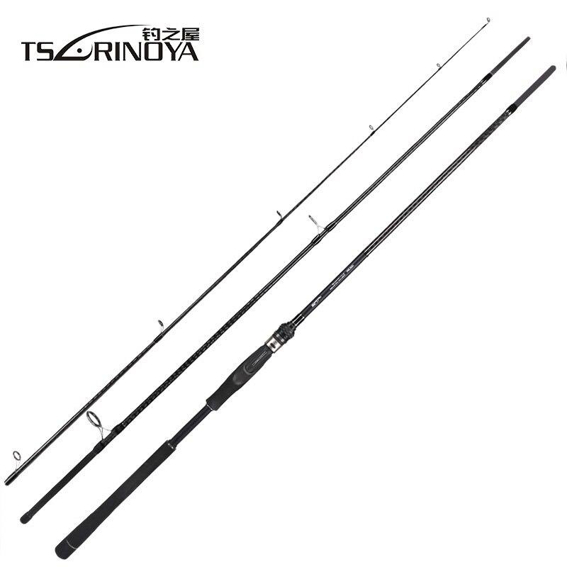Tsurinoya tyrans 2.4 m 2.7 m 3.0 m 3.3 m canne à pêche en carbone tige de bar de mer Distance de lancer tige de filature FUJI Guide bobine siège