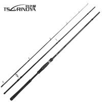 Tsurinoya TYRANTS 2.4m 2.7m 3.0m 3.3m Carbon Fishing Rod Sea Bass Rod Distance Throwing Spinning Rod FUJI Guide Reel Seat