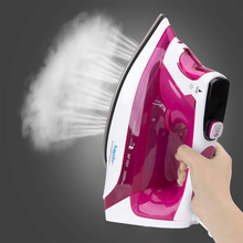 2400W Digital High quality laundry home appliances Electric Steam Iron with LCD displav soleplate iron for ironing Sonifer