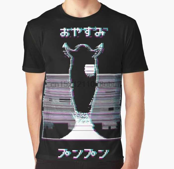 604eb91c76ab1 All Over Print 3D Women T Shirt Men Funny tshirt Glitch Oyasumi Punpun -  BLACK Graphic