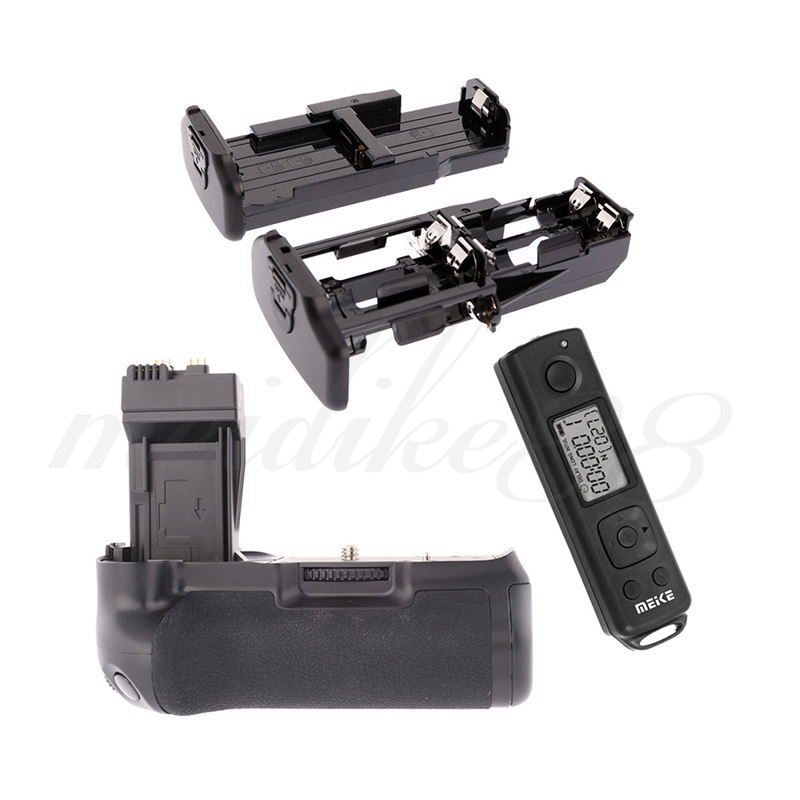 Meike MK-550DR Vertical Camera Battery Grip with 2.4Ghz Wireless Remote Control for Canon EOS 550D 600D 650D 700D