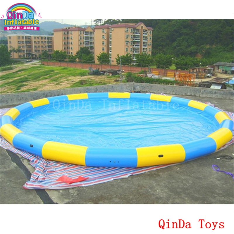Nice Commercial Grade Diameter 6m Inflatable Swimming Pool, Giant Inflatable Pool  With Free Pump In Inflatable Bouncers From Toys U0026 Hobbies On Aliexpress.com  ...