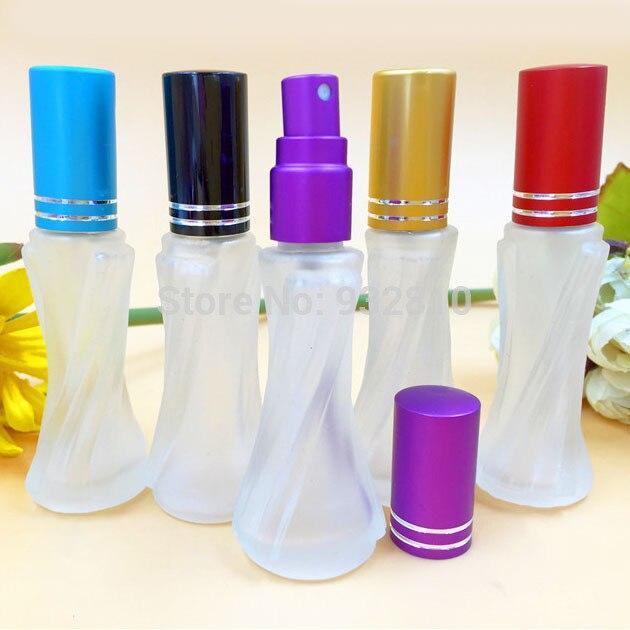 1e53e665a 8 ملليلتر زجاج زجاجة عطر إعادة الملء الخالي ماكياج الحاويات البخاخ زجاجة  رذاذ صغيرة النساء تفضل 10 قطعة/الوحدة DC367
