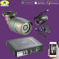 Golden Security 4CH 1080P 3000TVL AHD DVR Waterproof CCTV Surveillance Security Camera Day Night IR Cut