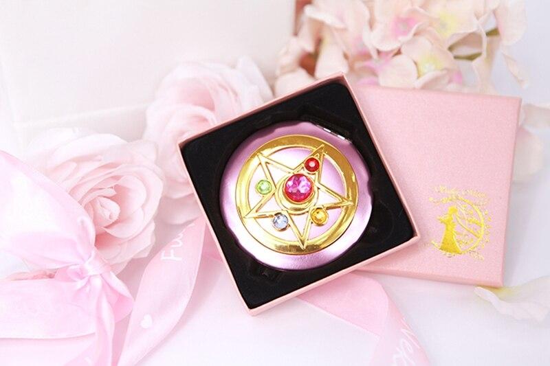 ailor moon Moonlight Memory Series Crystal Star Mirror Case cosmetic make up mirror (6)
